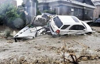 Güney Kore'de aşırı yağışlar can alıyor: En az 30 ölü