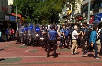KHK'lilerin yürüyüşüne müdahale: Çok sayıda kişi gözaltında