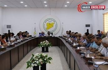 Rojava Özerk Yönetim'den Danimarka Dışişleri Bakanlığı'na ziyaret