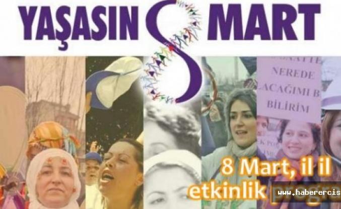 8 Mart, il il etkinlik programı