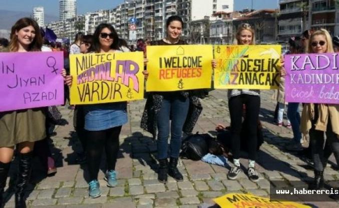İzmir'de kadınlar OHAL engelini aştı