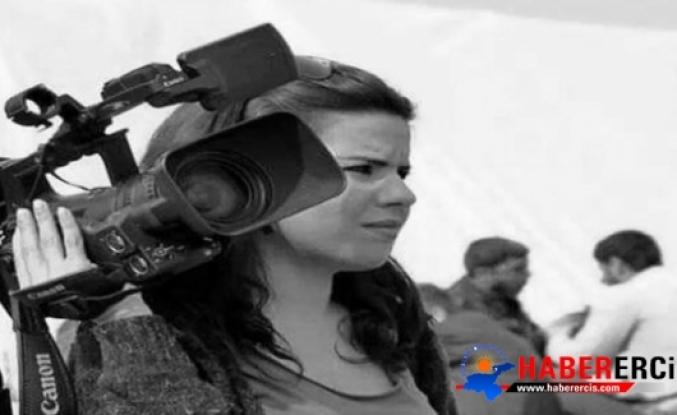 Kadın gazeteci tutuklandı