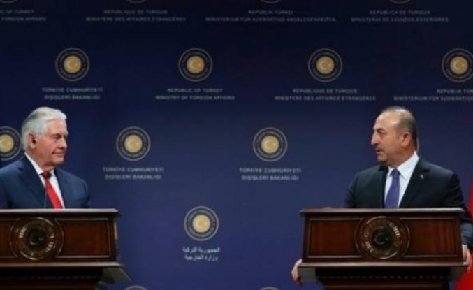 Tillerson: Çavuşoğlu'na Suriye'de güvenli bölge oluşturulmasını önermedim