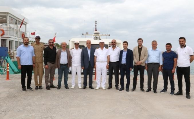 Van Büyükşehir Belediyesi Eş Başkanı Avcı Edremit'e incelemelerde bulundu