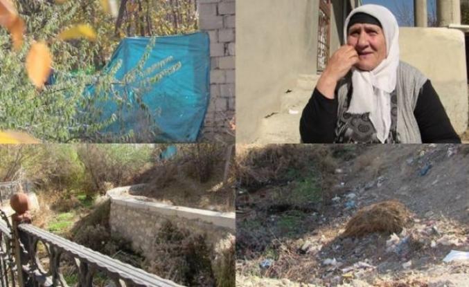 Edremit'de su kanalı projesi kayyım nedeniyle yarım kaldı
