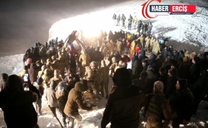 Van'da çığ altında hayatını kaybeden 4 kişinin kimliği belirlendi