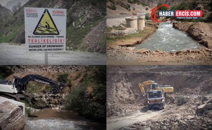 Çatak'ta Kanispi HES projesi nedeniyle yok olmayla yüz yüze!