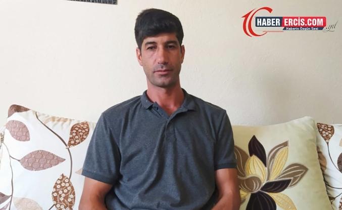 Erciş'te  görme engelli 3 çocuk babası Güler'in tek isteği bir Navibaston