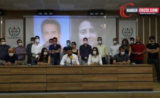Van'da ölüm orucundaki avukatlar Timtik ve Ünsal için bakanlığa mektup