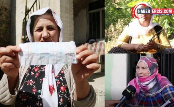 Çatak'ta Akmayan suyun yükü de faturası da kadınların omzunda