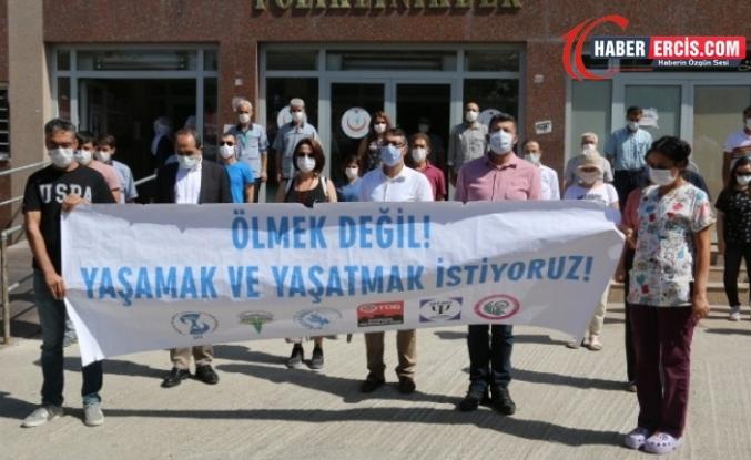 Diyarbakır'da 10 sağlıkçı Kovid-19'dan yaşamını yitirdi