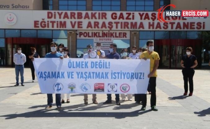 Diyarbakır'da Kovid-19'a yakalanan sağlıkçıların sayısı 800'ü aştı