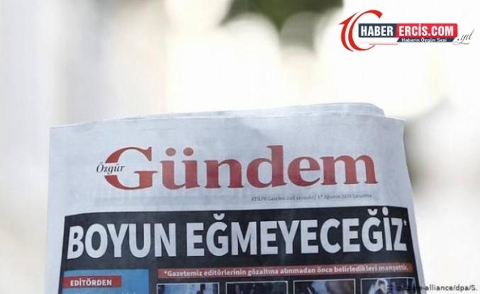 Özgür Gündem ile dayanışan gazetecilere verilen cezalar onandı