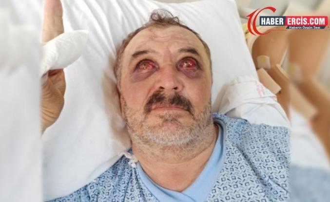 Van'da Helikopterden atılan Şiban zorla askeri hastaneye götürüldü