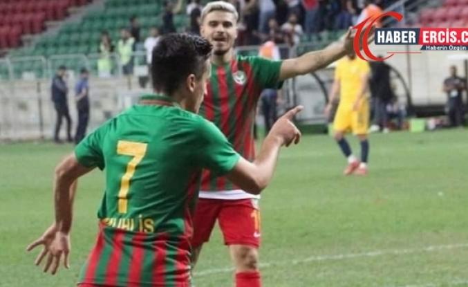 Amedspor sezonun ikinci galibiyetini aldı