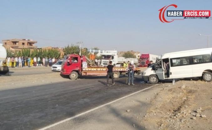 Diyarbakır'da tekstil işçileri kaza yaptı: 2 ölü 15 yaralı