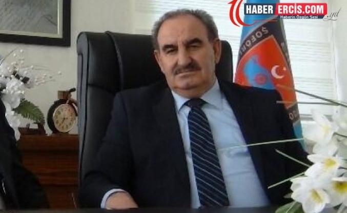 Erciş'te Şoförler Odası Başkanı Hüsamettin Çelik hayatını kaybetti