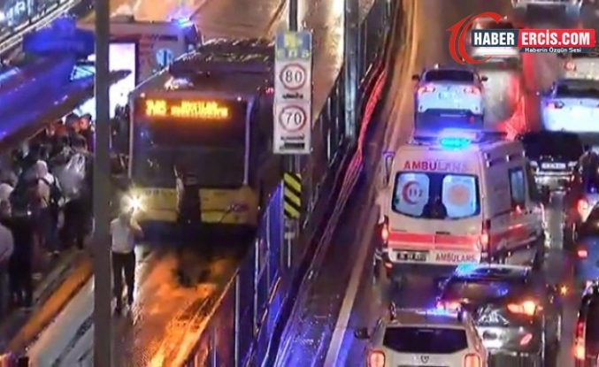 İstanbul Merter'de metrobüs kazası: 7 yaralı
