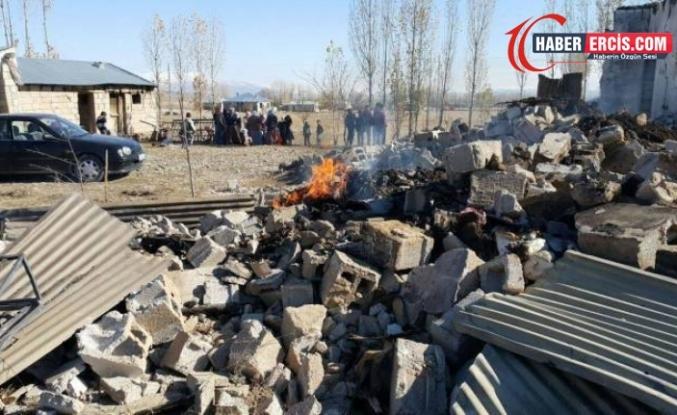Yargıtay Erciş'te evi yakılıp eşi öldürülen Ataman için müebbet istedi