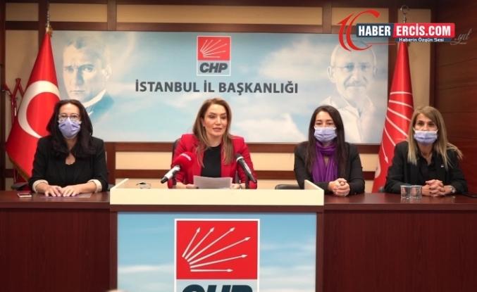 CHP İstanbul İl Kadın Kolları: İstanbul Sözleşmesi'nin uygulanmasını sağlamalısınız