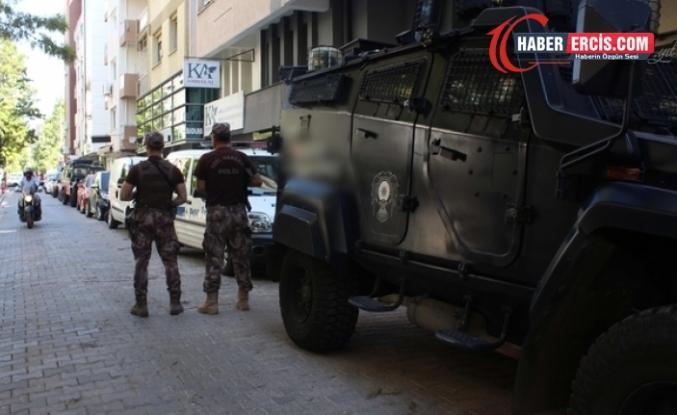 Van dahil birçok kentte gözaltı operasyonu