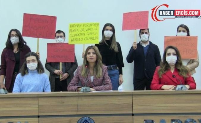Van Barosu Kadın Hakları Komisyonu: 11 ayda 269 kadın katledildi