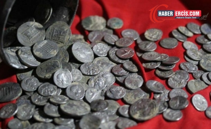 Kütahya'daki Antik Kentte Testi İçinde 651 Sikke Bulundu
