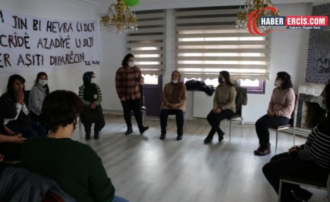 Van'da Kadınlardan drama atölyesi