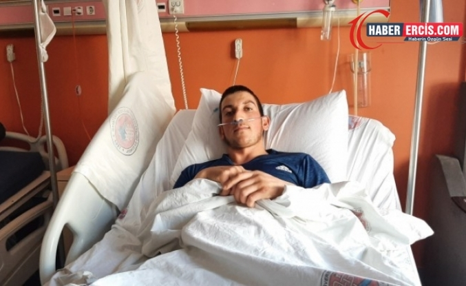 Van'da asker kurşunuyla yaralanan genç taburcu oldu