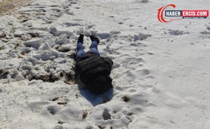 Van'da donmuş ceset bulundu