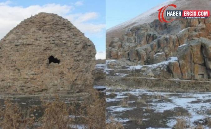 Çaldıran'daki tarihi yapı yakınlarında patlama