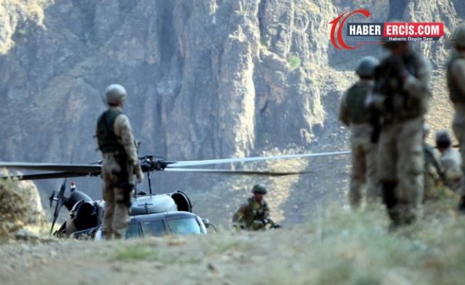 Gürpınar'da askeri operasyon