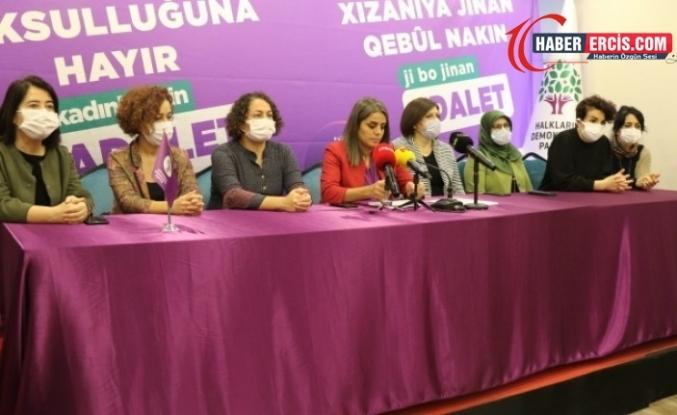 HDP 'Kadın yoksulluğuna hayır' kampanyasının startını verdi