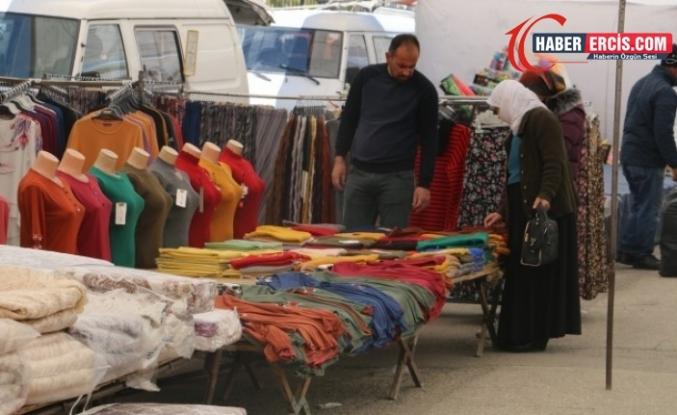 Van'da Pazarcı da halk da hayat pahalılığından şikayetçi