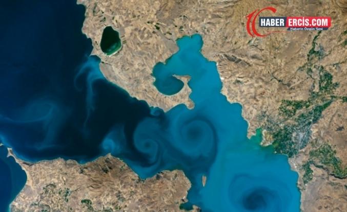 Van Gölü'nün uzaydan çekilen fotoğrafı, NASA'nın yarışmasında birinci oldu