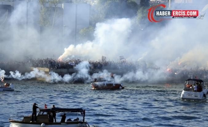 'Beşiktaş Donanması' şampiyonluğu kutladı!