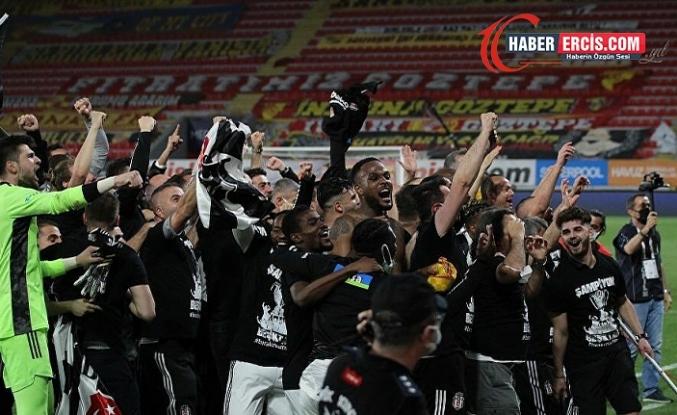 Süper Lig'de Şampiyon olan Beşiktaş kasasını da doldurdu