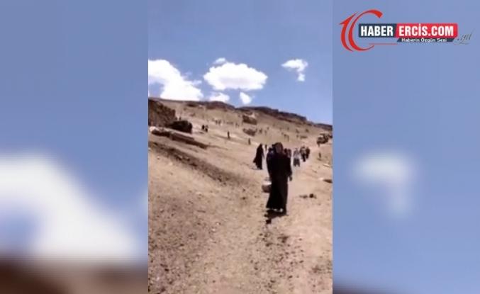 Van'da Mermer ocağı protestosunda köylülere kurşun sıkıldı