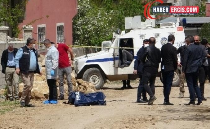 Van'da yanmış bir erkek cesedi bulundu