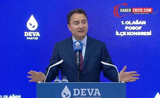 Babacan: Türkiye'de her alanda kriz var