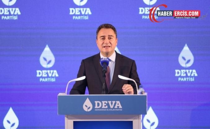 Babacan: Erdoğan 'Benim alanım ekonomi' diyor, madem alanı düzeltsin