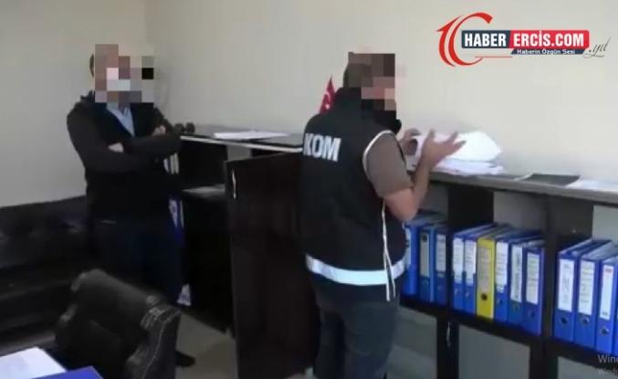 Erciş merkezli dolandırıcılık operasyonunda şuana kadar 30 kişi gözaltına alındı