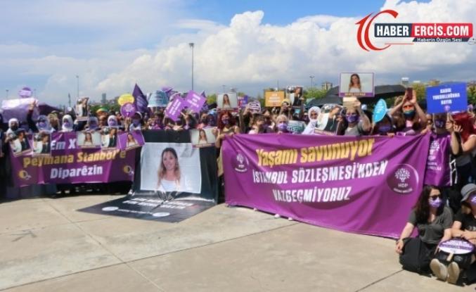 Kadınlar Maltepe'den seslendi: İstanbul Sözleşmesi'nden vazgeçmiyoruz