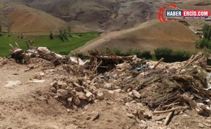 Van'da mermer ocağı için ahırları yıkılanlar: Bu köy bizimdir