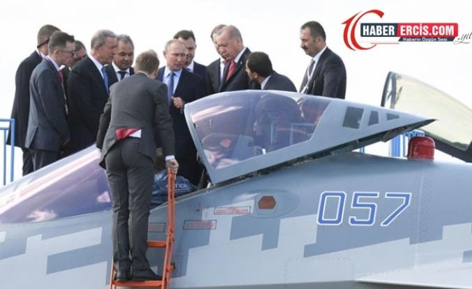 Rusya: Türkiye'ye Su-35 ve Su-57 satışını görüşmek için hazırız