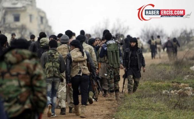 Serêkaniyê'de paramiliter gruplar arasında çatışma