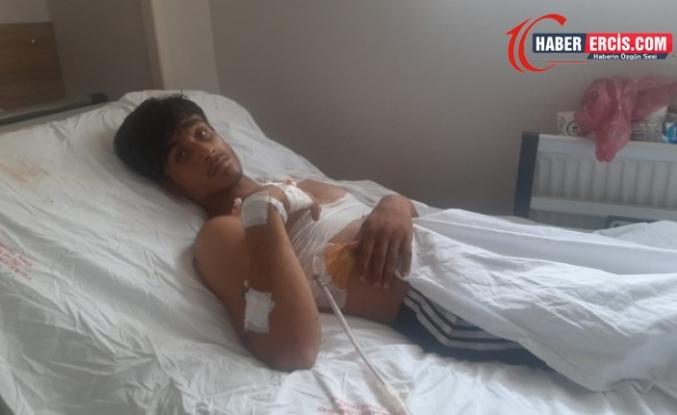 Van'da yaralı mültecilerin tedavileri sürüyor