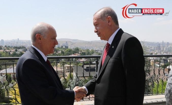 Erdoğan-Bahçeli görüşmesi: Rojava'ya yönelik operasyon konuşulacak