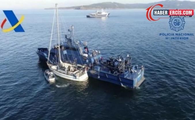 Türkiye kökenli çeteye ait 3 ton kokain yakalandı