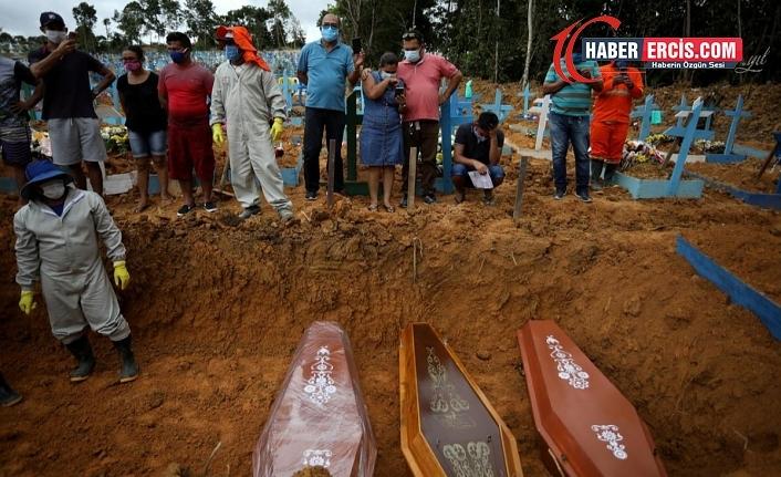 Brezilya'da Koronavirüsten ölenlerin sayısı 100 bini geçti